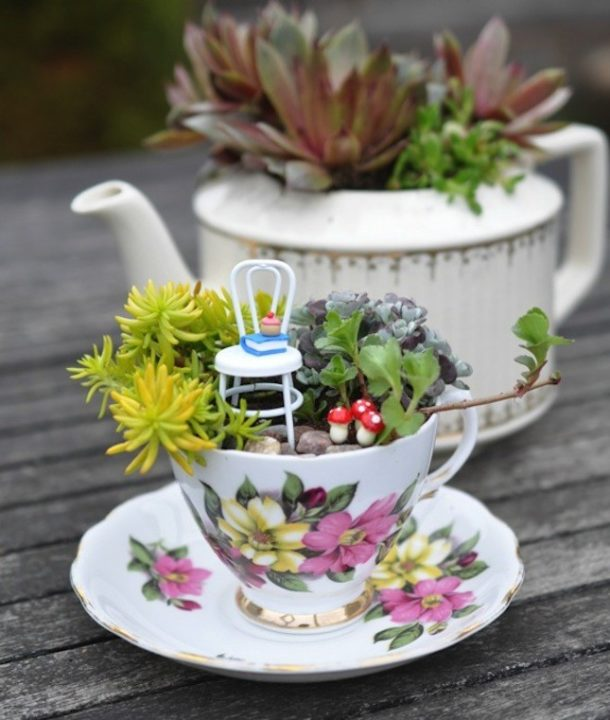 Magical Fairy Garden Designs: Magical DIY Fairy Garden Ideas : Small Garden Ideas For