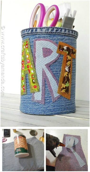 diy recycle repurpose jeans
