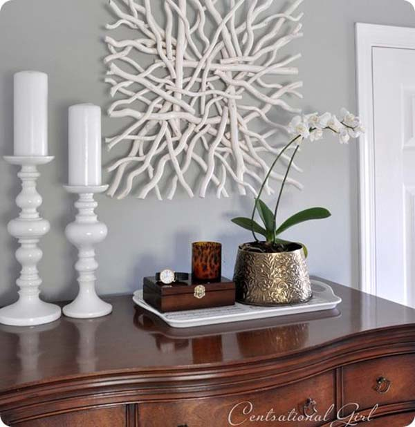 Driftwood diy home decoration ideas