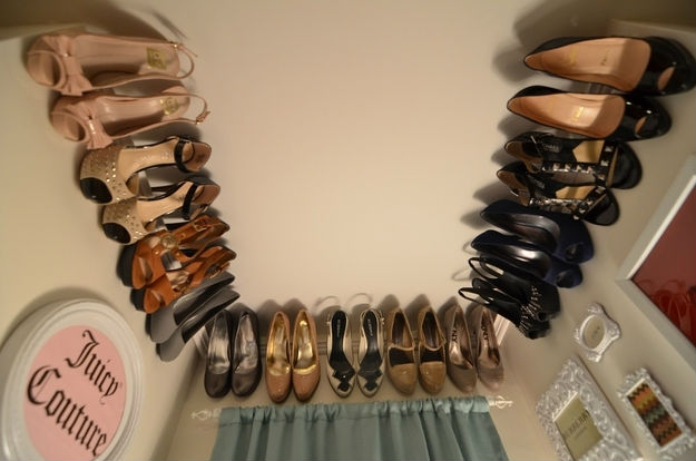 10 Cool DIY Shoe Storage Ideas l DIY Home Decorating Ideas