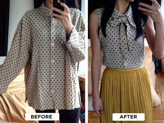 27 DIY Clothes Ideas :Recycle Your Old Cloths into Something Fashionable
