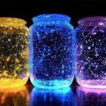 Try This Stunning DIY Galaxy Glow Jar : Fun Craft ideas For Kids