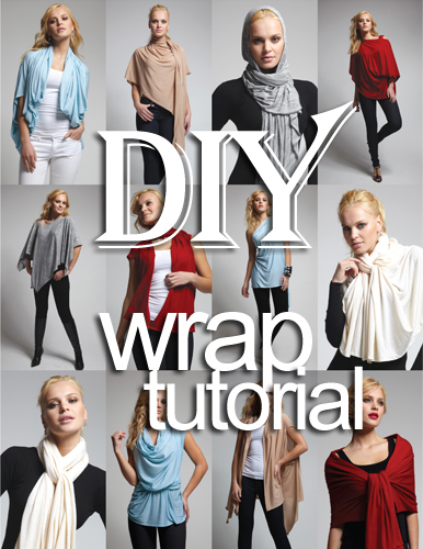 DIY Wrap Cardigan how to make tutorial