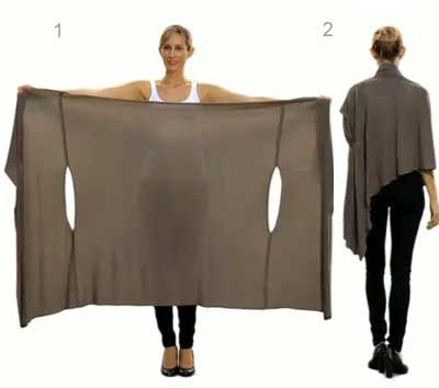 DIY Wrap Cardigan how to make