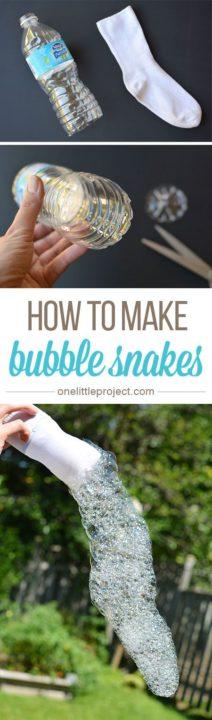 How To Make Bubble Snake Maker