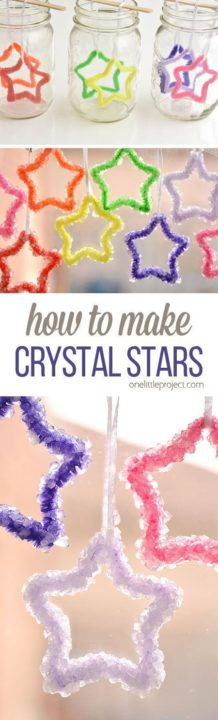 How to Make Crystals diy room decor