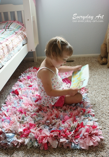 How to Make a Rag Rug at home