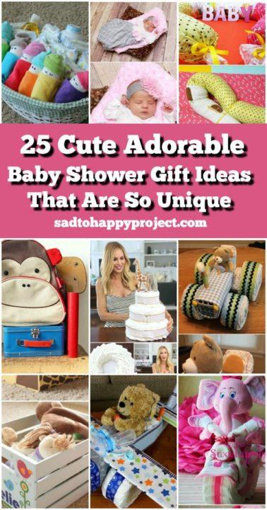 diy baby shower gift ideas handmade