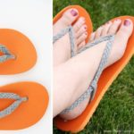 DIY Braided Strap Flip Flops Tutorial : Its Look So Fashionable And Easy To Make