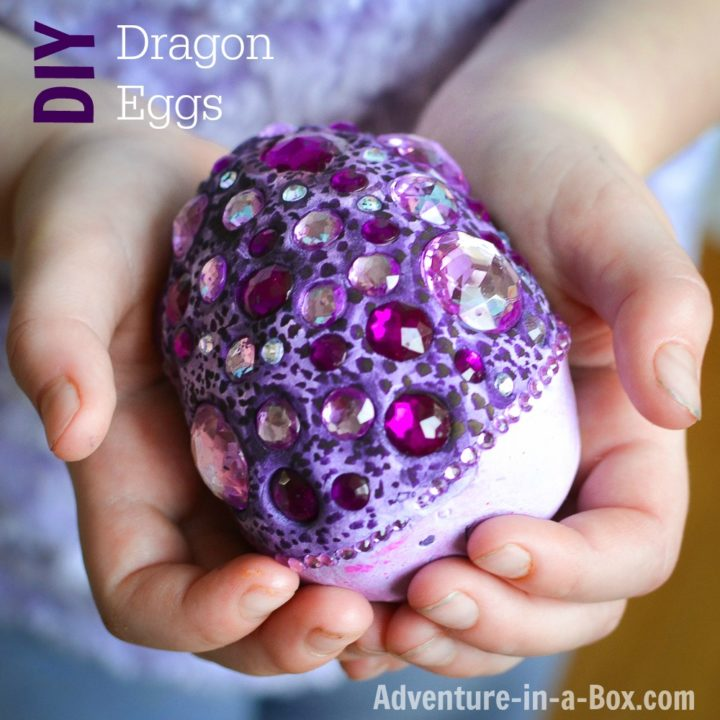 how-to-make-fantasy-clay-eggs-dragons-easter crafts