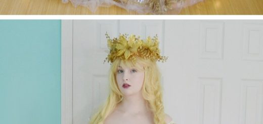 DIY Fairy Costume Idea
