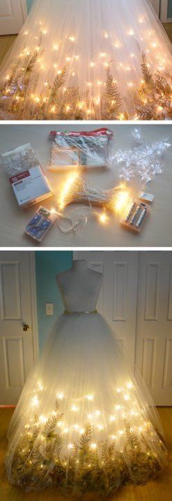 DIY Fairy Costume Idea tulle dress