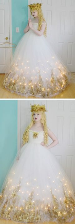 Beautiful DIY Fairy Costume Idea : This Fairy Dress Looks to Stunning