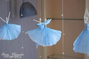 How to Make Paper Ballerinas : Wonderful DIY Paper Craft Ideas