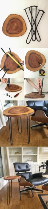 How To Build a Simple Hairpin Table Easy DIY Home Decor Projects