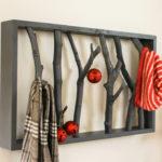 This Unique DIY Branch Shelf Will Give Rustic Look : DIY Home Decor