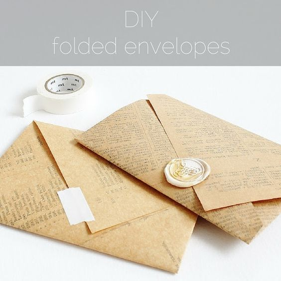 How To Make An Envelope : DIY Easy Paper Crafts