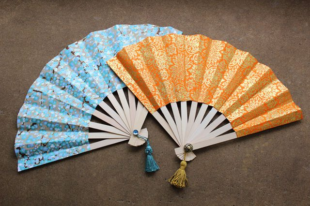 Paper Folding Fan Craft