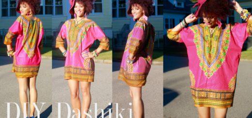 diy dress fashion ideas handmade dashiki