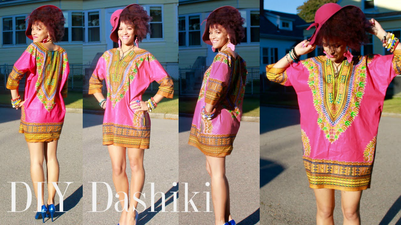diy dress fashion ideas handmade dashiki