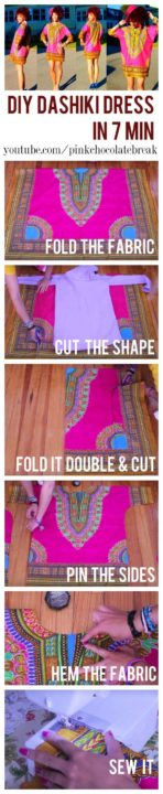 diy dress fashion ideas handmade