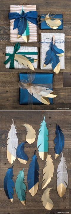 diy handmade gift wrapping ideas