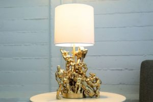 Stunning Handmade Lamp : DIY Room Decoration Ideas