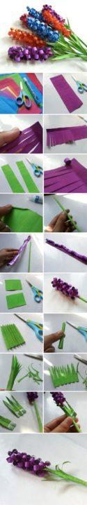 diy paper crafts flowers