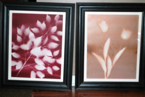 Beautiful DIY Spray Paint Flower Art : Easy To Do Wall Decor