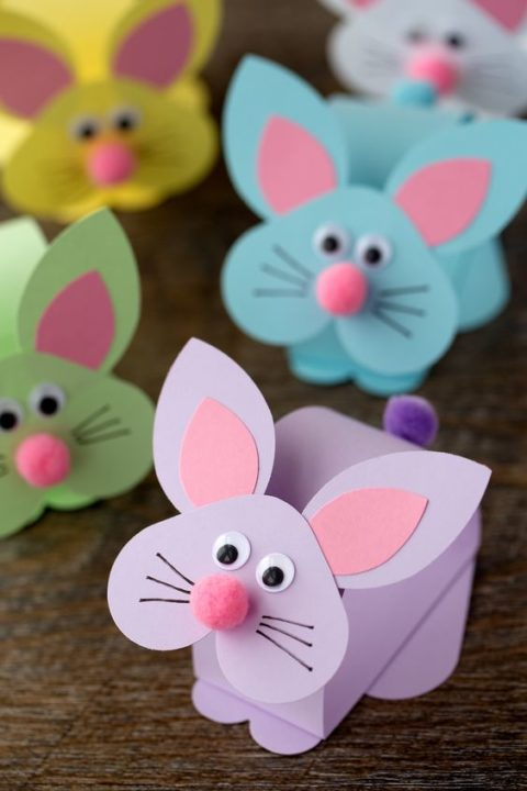 Easy Craft Ideas For Kids With Paper Part - 39: Easy DIY Paper Craft Ideas For Kids