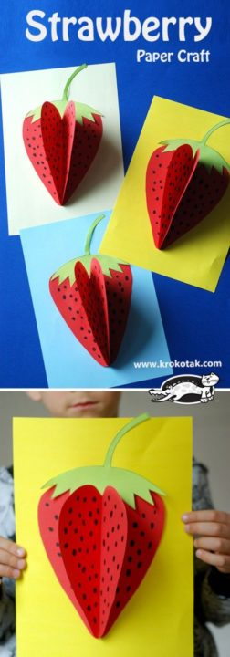 10 Super Easy Diy Paper Craft Ideas For Kids Sad To Happy Project