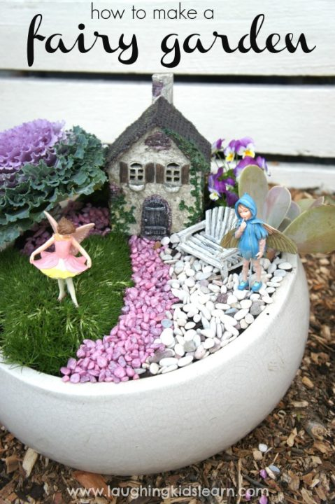 Top DIY 35 Magical Fairy Garden Ideas
