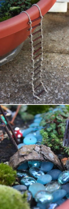 diy fairy garden ideas miniature decoration