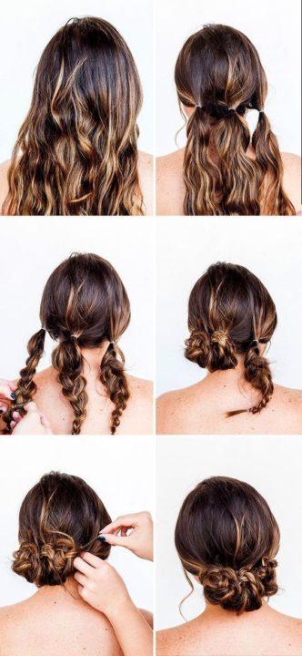 diy easy hairstyles for long hair