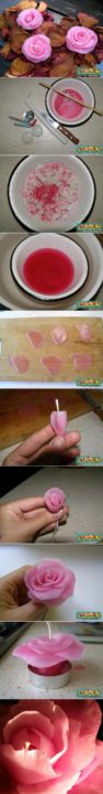 how to make candles diy