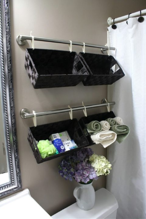 18 Great DIY Bathroom Storage Hacks and Organization Solutions (Part 2)