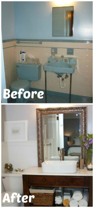 diy bathroom storage hacks solutions tips organization
