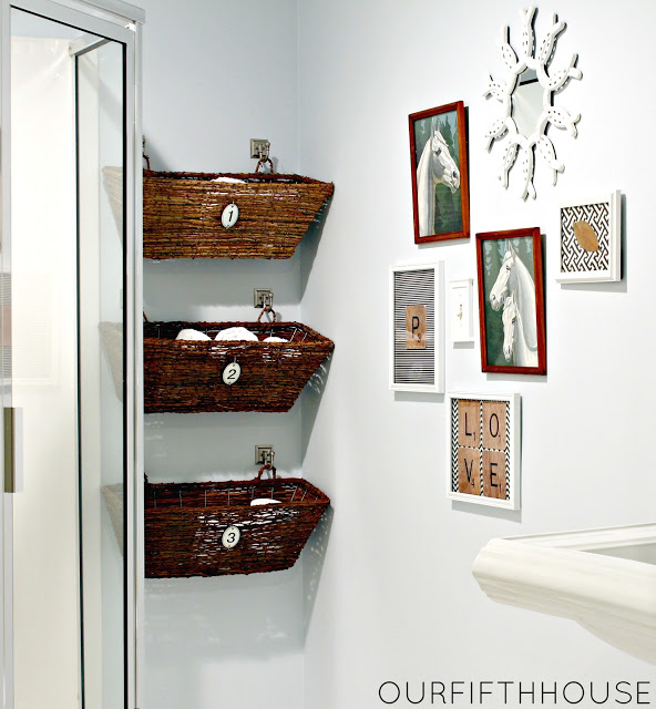 diy bathroom storage orgaziation ideas hacks solutions tips