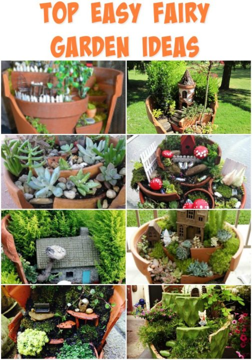Top Diy 35 Magical Fairy Garden Ideas Sad To Happy Project