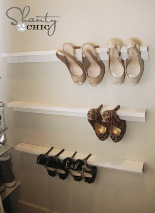 diy-shoes-organizing ideas