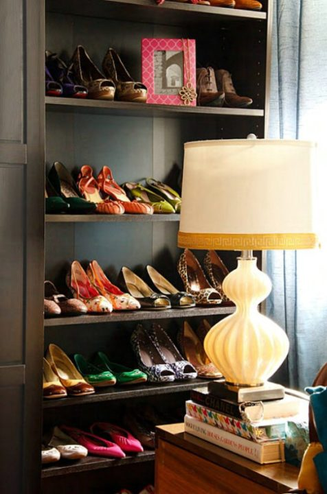 easy shoes-organizing ideas
