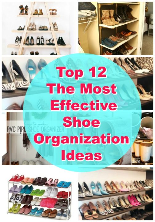 shoes-organizing ideas projects