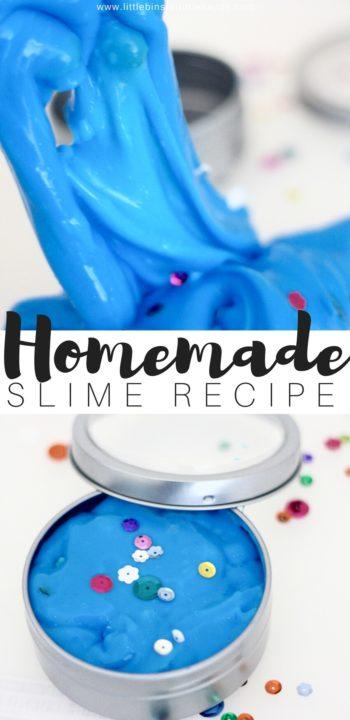 diy borax handmade slime