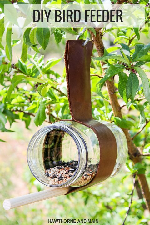 diy Leather-Stringed-Bird-Feeder