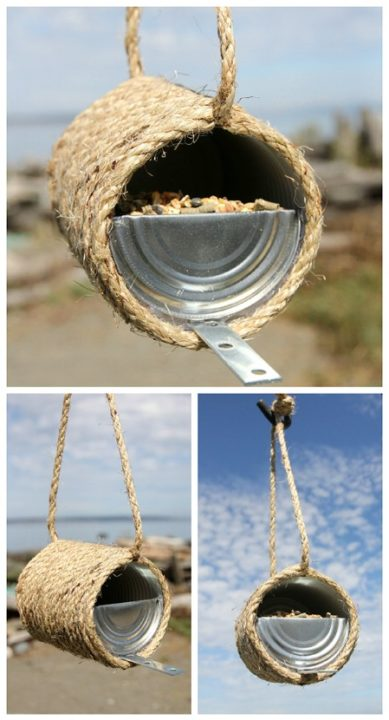 diy bird feeder 7