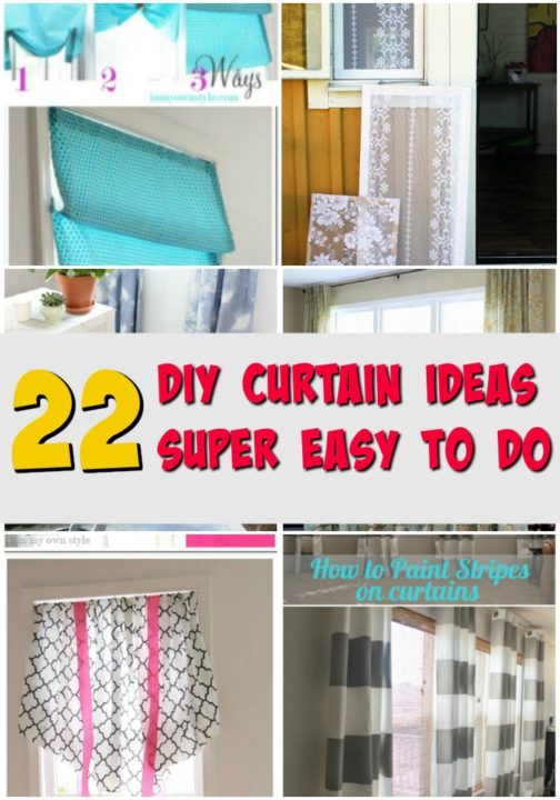 diy curtains ideas easy