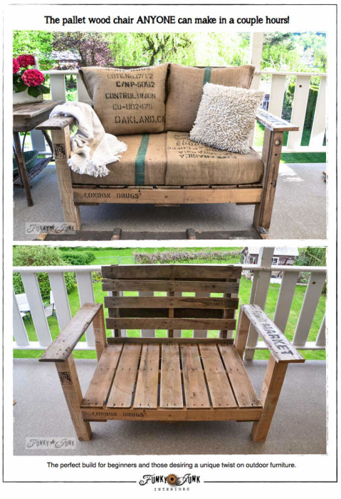 diy easy pallet projects