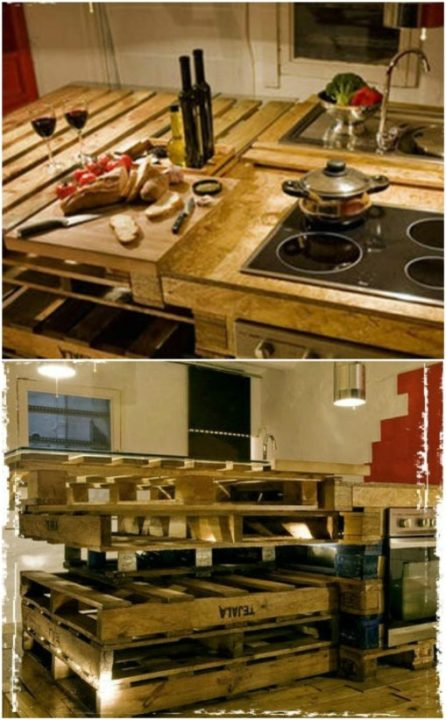 diy pallet ideas rustic furniture kitchen ideas