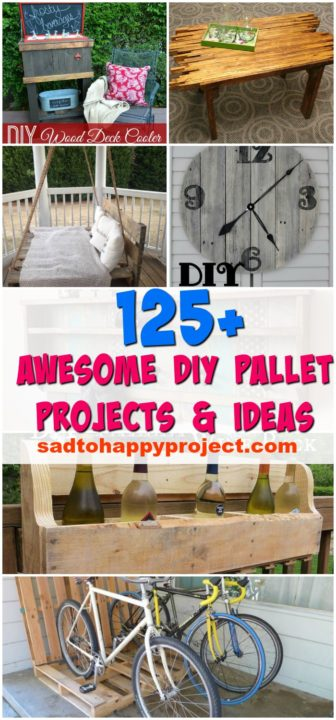 125 Easy Diy Pallet Projects And Ideas For Your Kitchen Furniture