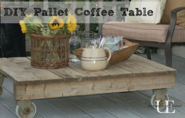 easy pallet wood projects ideas